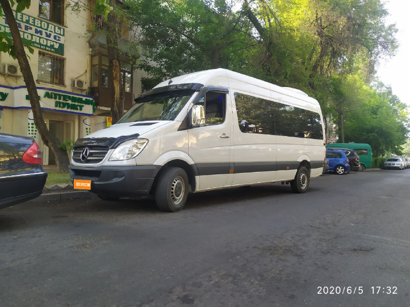 Beads to order. Rent a minibus Mercedes Sprinter VIP
