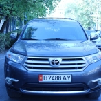 Rent Toyota Highlander in Bishkek