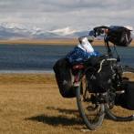 Radtour im Tienschan Gebirge