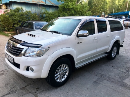 Rent a car Toyota Hilux 2012 in Kyrgyzstan