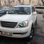 Miete des Geländewagens Lexus GX470 in Kirgisistan