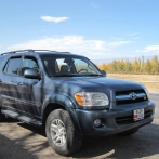 Car rental in Bishkek Toyota Sequoia №5