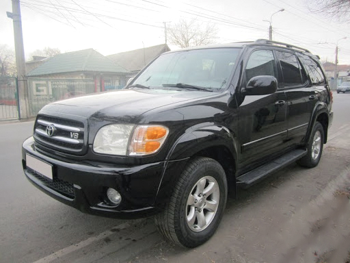 Rent a car Toyota Sequoia 2005 black