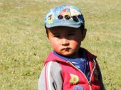 A Little Nomad in Trekking in Central Asia