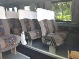 Comfortable armchairs for a rented minivan in 2014